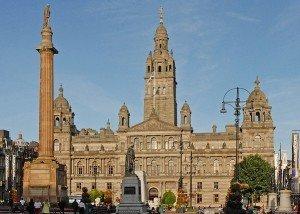Servicios ofrecidos para una mudanza internacional a Glasgow
