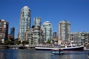 Transporte aéreo y marítimo en Vancouver
