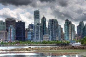 El centro de la ciudad de Vancouver