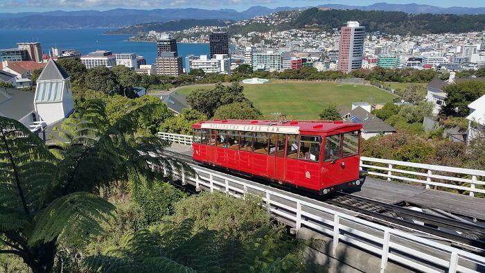 Principales destinos de mudanzas en Nueva Zelanda