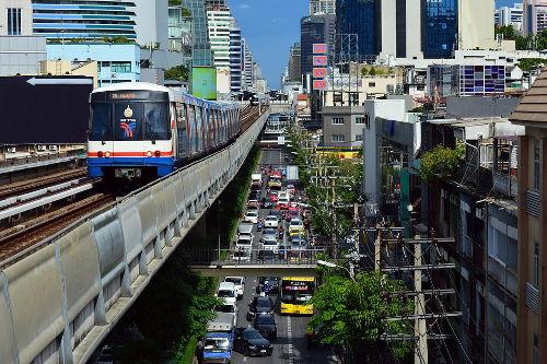 Cómo moverse en Tailandia
