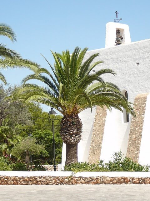 Land removals to Ibiza