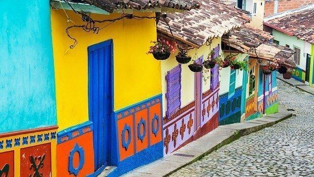 Búsqueda de alojamiento el Colombia