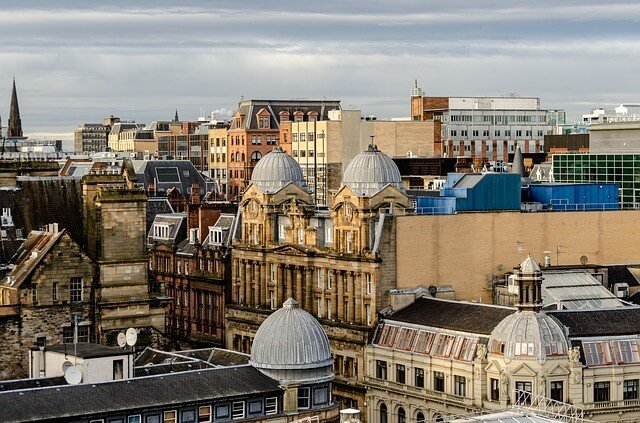 Información para una mudanza internacional a Glasgow