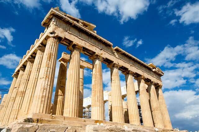 Principales destinos de mudanzas a Grecia