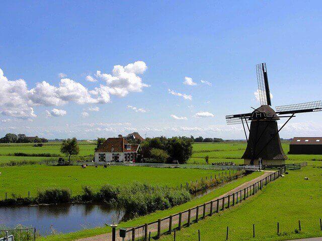 Principales destinos de mudanzas en Países Bajos
