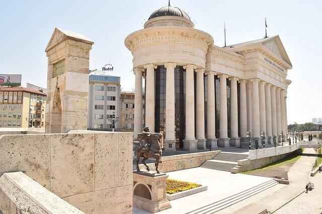 Información acerca de aduanas de Macedonia