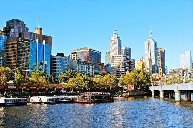 Ubicación para una mudanza internacional a Melbourne