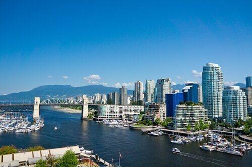 Tipos de alojamientoen Vancouver