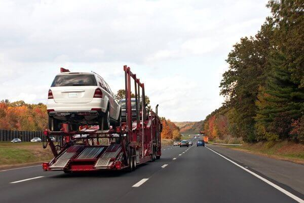 Car transport, vehicle loading and tips