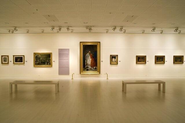 Traslado de exposiciones de arte