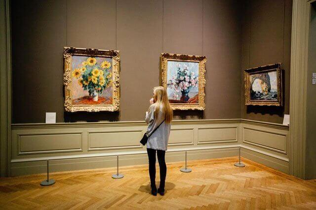 Servicios a galerías de arte contemporáneo