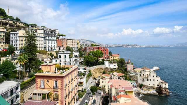 Precio de mudanzas a Nápoles