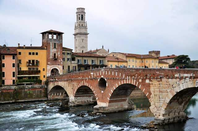 Precio de mudanzas a Verona