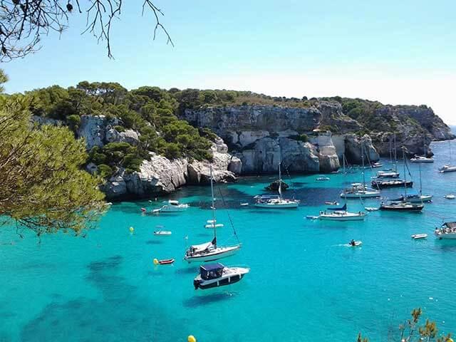 Mudança de serviço para Ilhas Baleares