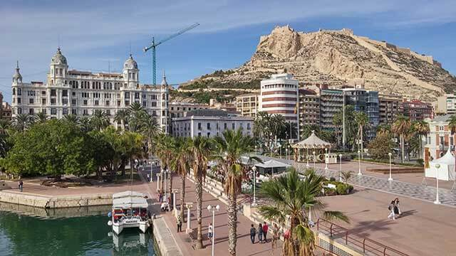 Budget for moving to Alicante