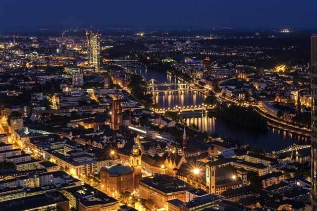 Precio de mudanza a Frankfurt
