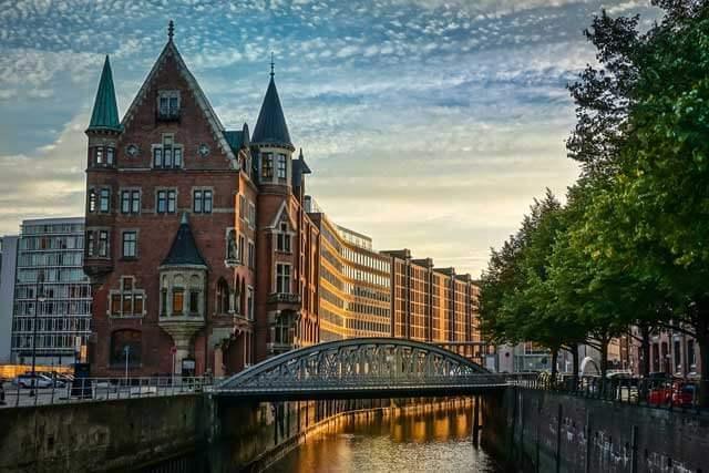 Mudanzas a Hamburgo desde España