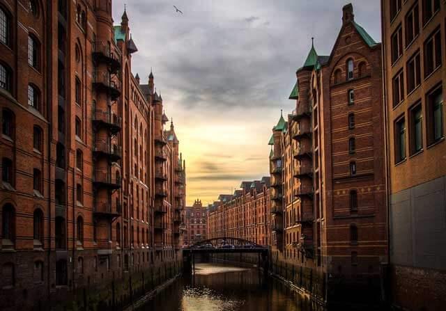 Presupuesto para una mudanza a Hamburgo