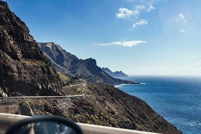 Transporte de coches a La Gomera
