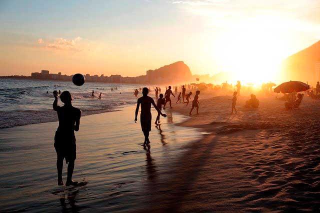O clima no Brazil