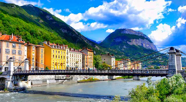 Precio de mudanza a Grenoble