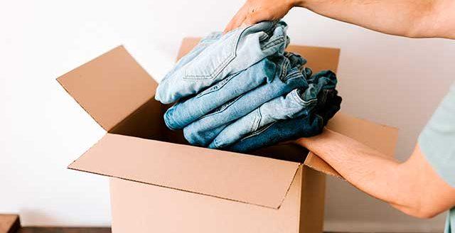 Cajas de mudanza para ropa