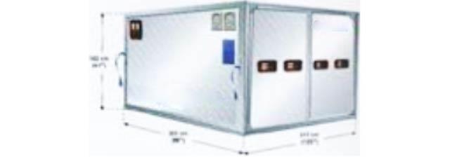 Contenedor a temperatura regulable RAP